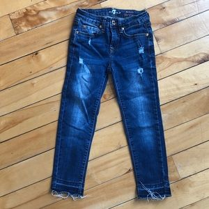7 For All Mankind Distressed Jeans, New